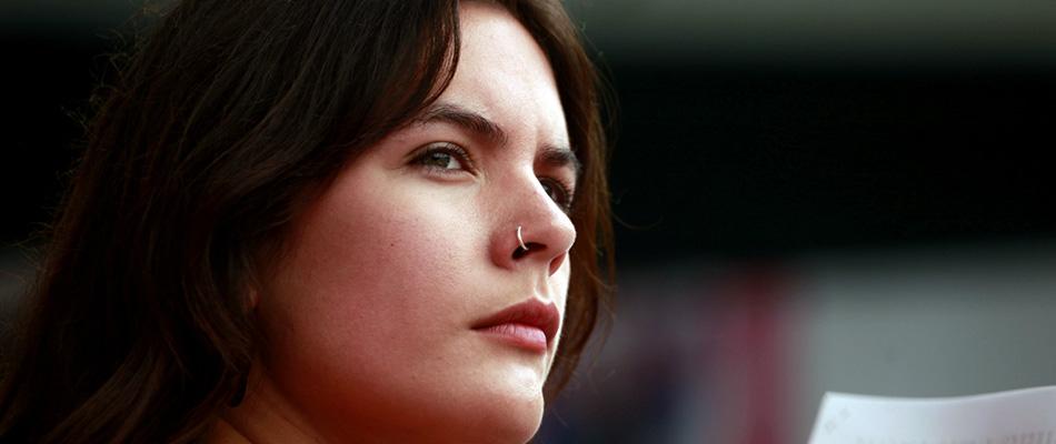 Camila Vallejo pide ayuda a la ONU para frenar la represión en Chile