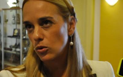 La esposa del encarcelado opositor venezolano Leopoldo López pide auxilio en la ONU