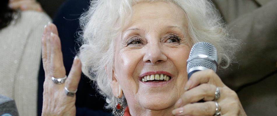 La Abuela de Plaza de Mayo, Estela Carlotto, agradeció a la ONU la búsqueda de los desaparecidos