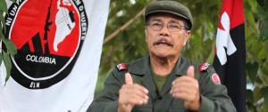 Gabino Rodriguez, jefe del ELN colombiano. Foto: portaldelsur.info