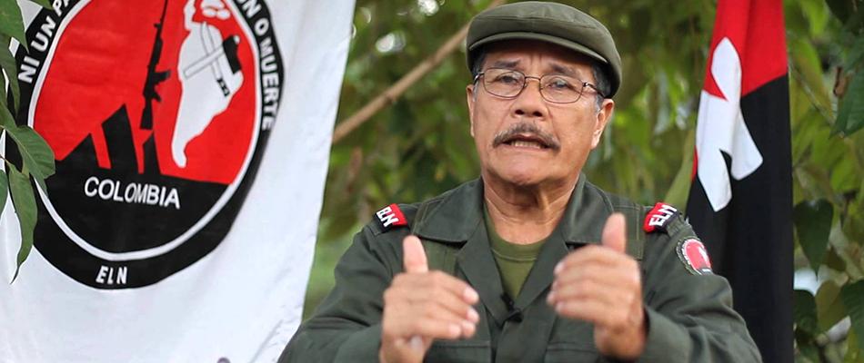 El jefe del ELN colombiano quiere ampliar a más países garantes el proceso de paz
