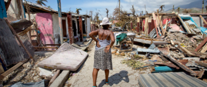 Ciclón en Haiti. Foto: theloquitur.com