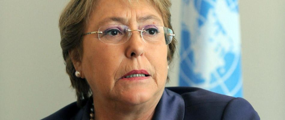 Michelle Bachelet radiografía la Venezuela de Nicolás Maduro