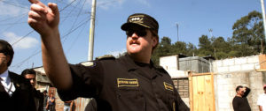 Ex jefe de policía guatemalteco Erwin Sperisen.