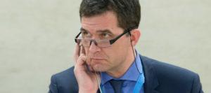 Relator de la ONU contra la Tortura, Nils Melzer. Foto: ONU/Jean-Marc Ferré