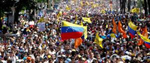 Protesta en Venezuela. Foto: gacetamexicana.mx