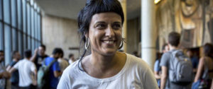 La dirigente de la CUP, Anna Gabriel - FOTO: EFE