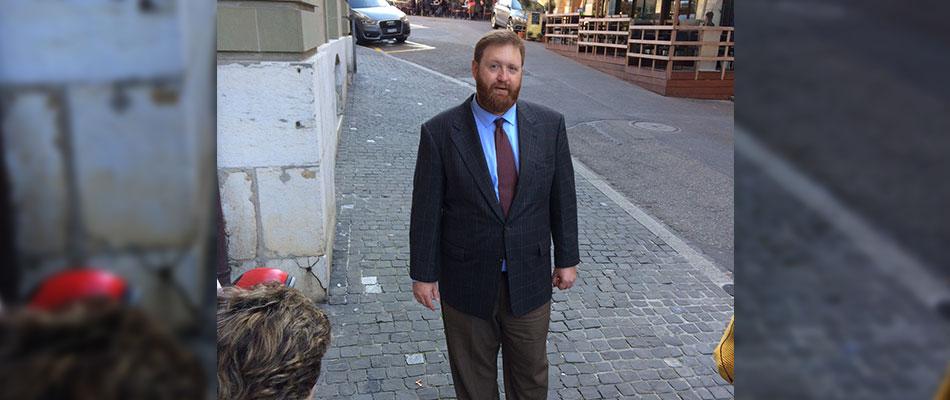 """""""Nunca mate a nadie"""", dijo Sperisen al finalizar el juicio la semana pasada en Ginebra"""