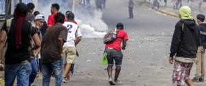 Disturbios en Nicaragua. Foto: moscovita.org
