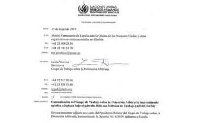"""La """"guerra sucia"""" de España contra el Grupo de Trabajo de la ONU sobre la Detención Arbitraria"""