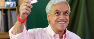 Sebastián Piñera. Foto: AFP / MARTIN BERNETTI