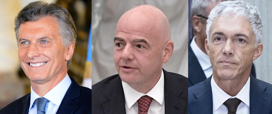 El Footbal-Leaks y la visita a la sede de la FIFA en Zurich del ex-presidente Mauricio Macri