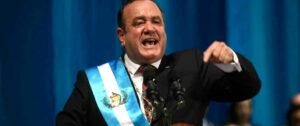 Alejandro Giammattei, presidente de Guatemala. Foto: EDWIN BERCIAN/EFE
