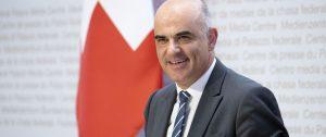 Ministro de salud suizo, Alain Berset. Foto: Peter Klaunzer/KEYSTONE.