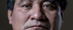Bernando Caal Xol, Líder comunal de Guatemala. Foto: Pedro Armestre/ Alianza por la Solidaridad.