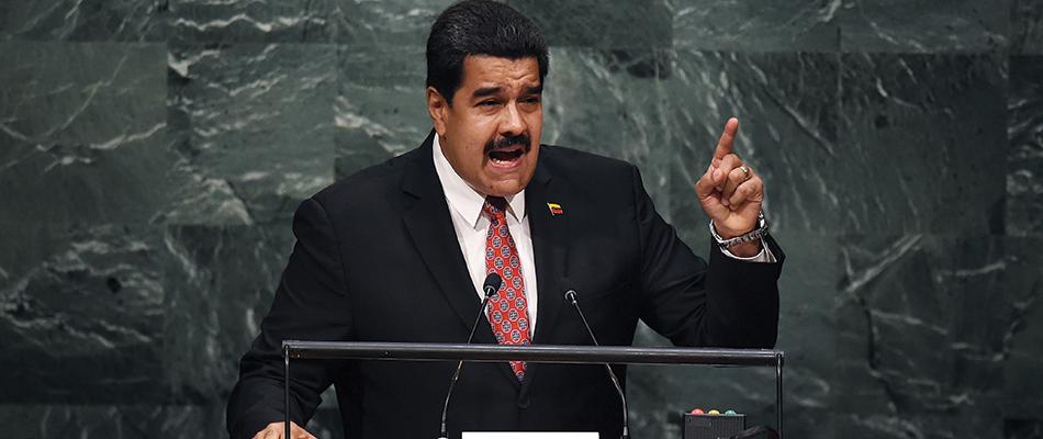 """El Presidente venezolano Nicolás Maduro denunció en la ONU """"una agenda de acoso mundial"""""""