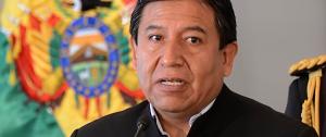 David Choquehuanca, ministro de exteriores de Bolivia