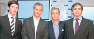 A la extrema derecha, Néstor Marcelo Ramos. A su derecha, Juan Pedro Damiani.