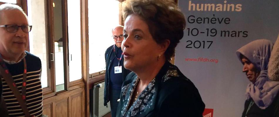 Dilma Rousseff desafía en Ginebra a que nadie publicará datos implicándola en la corrupción