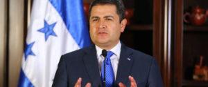 Actual presidente de Honduras, Juan Orlando Hernández