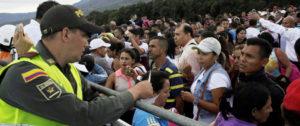 Inmigrantes en Venezuela. Foto: Reuters