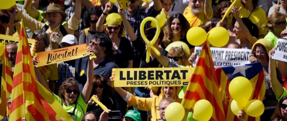 La ONU emplaza a España para que libere dirigentes catalanes independentistas