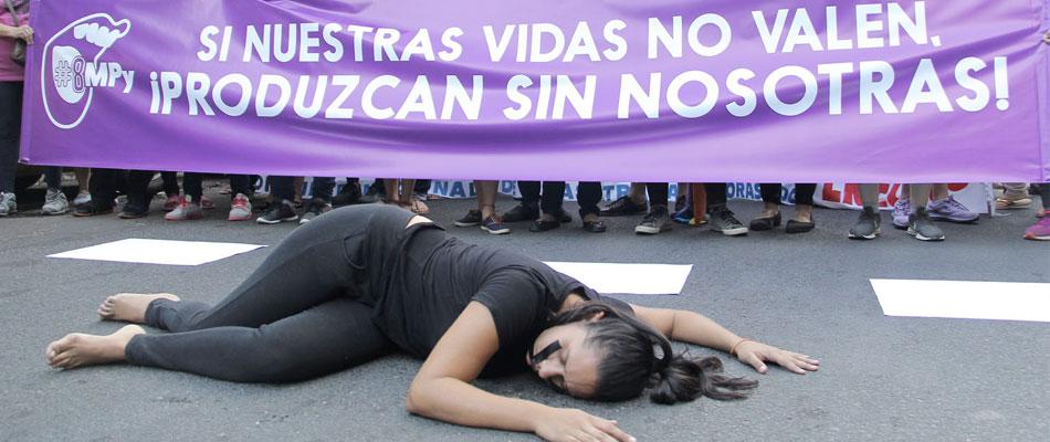 """Incremento """"alarmante"""" de los feminicidios en Paraguay, deplora la ONU"""