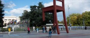 Plaza frente a la ONU. Foto: Orbisswiss Photos & Press - Genèva