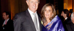 Jorge Neuss y su esposa. Foto: NA
