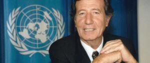 El jurista argentino Leandro Despouy, fallecido el 18 de diciembre de 2019, Relator de la ONU que luchó para que se hiciera justicia con los detenidos en Guantánamo. Foto: Humberto Salgado.