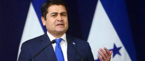 Presidente hondureño Juan Orlando Hernández