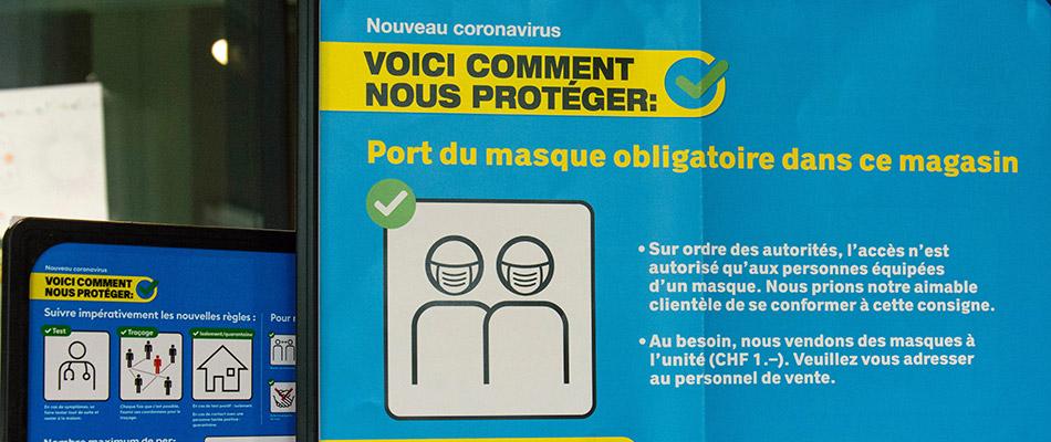 Suiza aligera restricciones para contener la pandemia pese a que la situación sigue siendo negativa