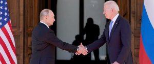 Encuentro Biden-Putin. Foto: AP - Patrick Semansky.
