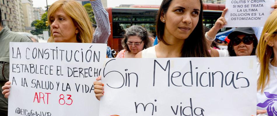 Venezuela no puede sanar enfermos de cáncer por las sanciones de EE.UU