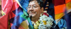 Luis Arce, presidente de Bolivia. Foto: elintransigente.com